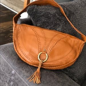 BCBG Leather Shoulder Bag